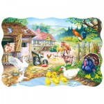 Puzzle  Castorland-3310 The farm