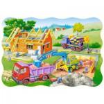 Puzzle  Castorland-3372 Building a House