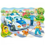 Puzzle  Castorland-3389 The road to school