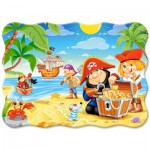 Puzzle  Castorland-3488 Pirate Treasure