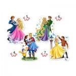 4 Puzzles - Princesses in Love