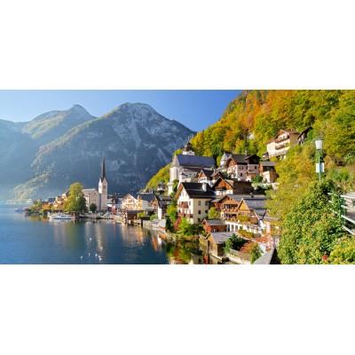 Castorland-400041 Jigsaw Puzzle - 4000 Pieces : Hallstatt, Austria
