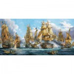 Puzzle  Castorland-400102 Sea Battle