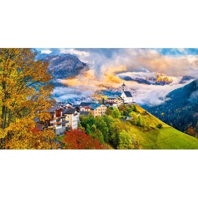 Puzzle Castorland-400164 Colle Santa Lucia, Italy