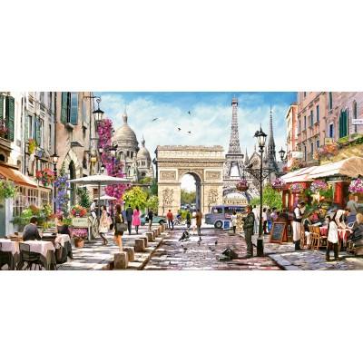 Puzzle Castorland-400294 Essence of Paris