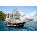 Castorland-51496 Jigsaw Puzzle - 500 Pieces - Sailboat Cruise