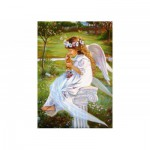 Castorland-51748 Jigsaw Puzzle - 500 Pieces : Little Angel and Kitten