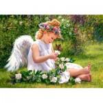 Puzzle  Castorland-51991 The garden angel