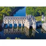 Puzzle  Castorland-52103 Château de Chenonceau