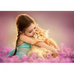 A Love Kitten 500 piece jigsaw puzzle