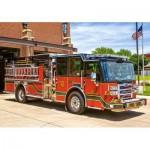 Puzzle  Castorland-52660 Fire Engine