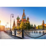 Puzzle  Castorland-52714 Saint Basil's Cathedral, Moscow
