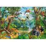 Puzzle  Castorland-52776 Life Hidden in Jungle