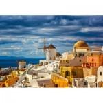 Puzzle  Castorland-52905 View of Oia Santorini
