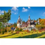 Puzzle  Castorland-53292 Castle Peles, Romania