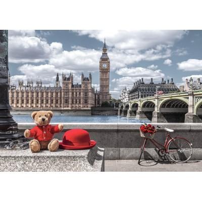 Puzzle Castorland-53315 Little Journey to London