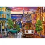 Puzzle  Castorland-53391 San Francisco Trolley