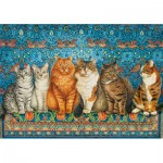 Puzzle  Castorland-53469 Cat Aristocracy