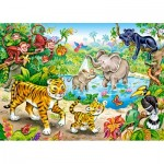 Puzzle   Animals in the Jungle