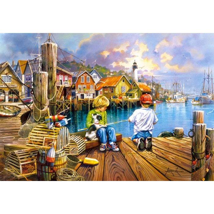 At the Dock Puzzle 1000 pieces
