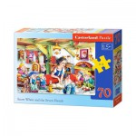 Puzzle  Castorland-B-007042 Snow White and the Seven Dwarfs