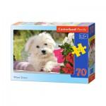 Puzzle  Castorland-B-007165 White Terrier