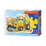 Puzzle  Castorland-B-015047 A Smiling Digger