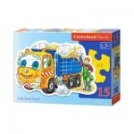 Puzzle  Castorland-B-015061 Little Sand Truck
