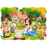 Puzzle  Castorland-B-03495 Snow White and the Seven Dwarfs