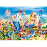 Puzzle  Castorland-B-035052 Little Mermaid