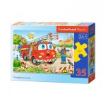 Puzzle  Castorland-B-035106 Firefighters Team