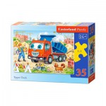Puzzle  Castorland-B-035144 Tipper Truck