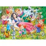 Puzzle  Castorland-B-035175 Mini Pieces - Snow White and the Seven Dwarfs