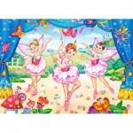 Puzzle  Castorland-B-035182 Mini Pieces - Little Ballerinas