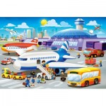 Puzzle  Castorland-B-040223 XXL Pieces - A Day at the Airport