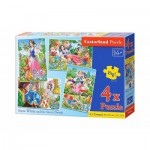Puzzle  Castorland-B-04423 Snow White and the Seven Dwarves