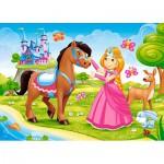 Puzzle  Castorland-B-06816 Princess and her Friend