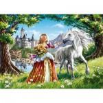 Puzzle  Castorland-B-06830 Princess and Her Friend