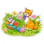 Puzzle  Castorland-B-120123 Kitten Family