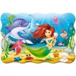 Puzzle  Castorland-C-02290 XXL Pieces - Little Mermaid