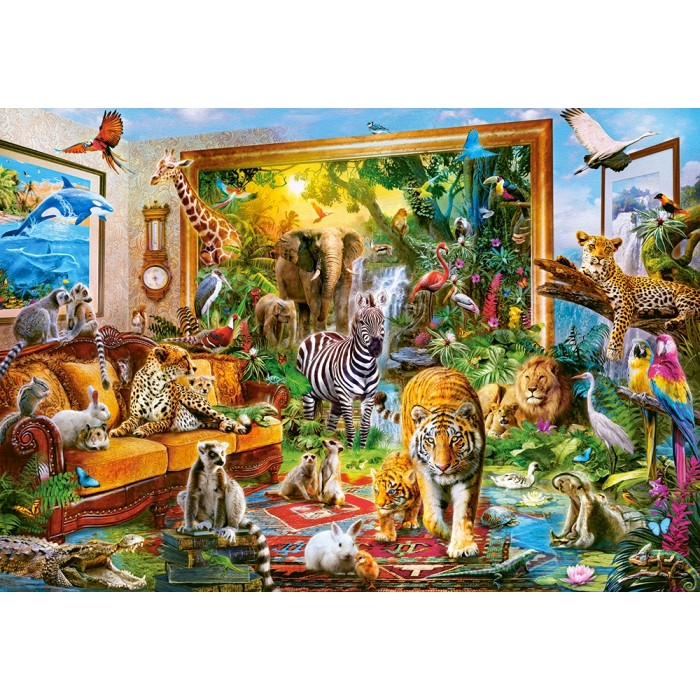Coming to Room Puzzle 1000 pieces
