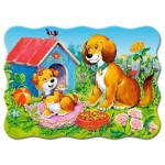Puzzle   Dogs in the Garden