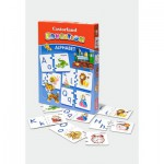Puzzle  Castorland-E-043 Alphabet in English - to learn with fun
