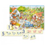Puzzle  Castorland-E-128 Counting on the Farm