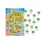 Puzzle  Castorland-E-180 XXL Pieces - Map of Germany