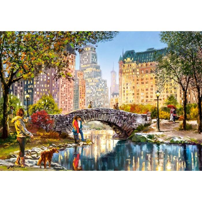Evening Walk Through Central Park Puzzle 1000 pieces
