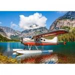 Puzzle   Floatplane on Mountain Lake