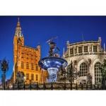 Puzzle   Gdansk, Neptune Fountain