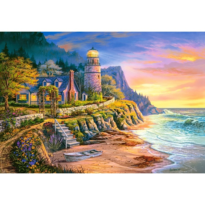 Lighting the Way Puzzle 1000pieces