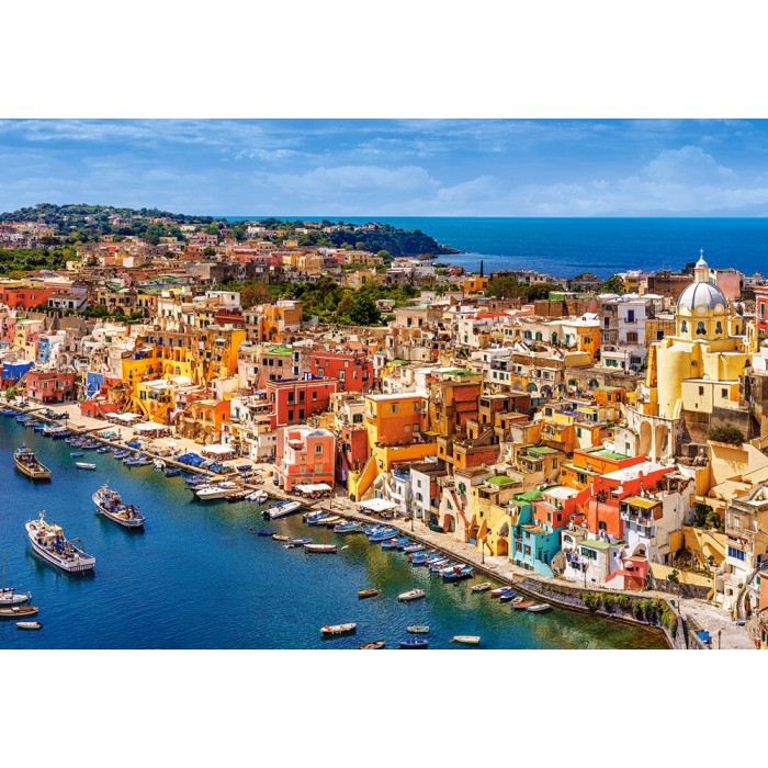 Marina Corricella, Italy Puzzle 1500pieces